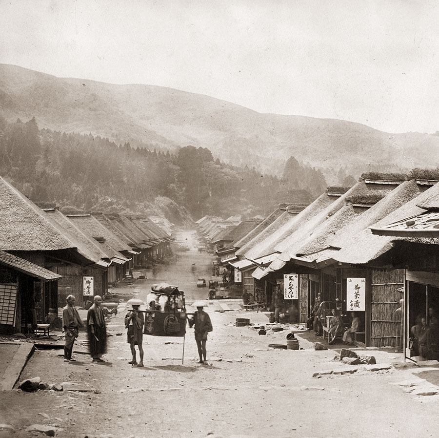 130603-0010 - Hakone in Kanagawa Prefecture during the 1860s